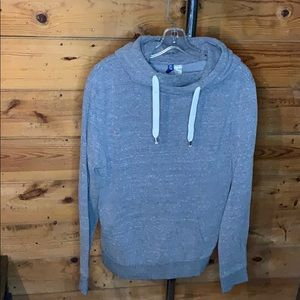 Grey hoodie- L